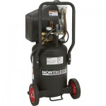 NorthStar Portable Electric Air Compressor — 1.5 HP, 8-Gallon Vertical, 3.0 CFM, Model# DD20N08VP