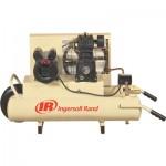 Ingersoll Rand Electric Wheelbarrow Air Compressor — 2 HP, 8-Gallon, 5.7 CFM, Model# SS3J2-WB