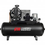 Campbell Hausfeld Two-Stage Air Compressor — 5 HP, 16.6 CFM @ 175 PSI, 208-230/460 Volt Three Phase, Model# CE7053