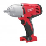 Milwaukee M18 Cordless Impact Wrench w/Friction Ring — Tool Only, 1/2in., Model# 2663-20