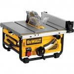 DEWALT 10in. Jobsite Table Saw with Site-Pro Modular Guarding System — 24in. Rip Capacity, Model# DWE7480
