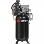 Campbell Hausfeld Two-Stage Air Compressor — 5 HP, 16.6 CFM @ 175 PSI, 208-230/460 Volt Three Phase, Model# CE7051