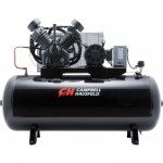 Campbell Hausfeld Two-Stage Air Compressor — 10 HP, 34.1 CFM @ 175 PSI, 208-230/460 Volt Three Phase, Model# CE8001