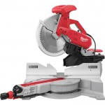 Milwaukee Dual-Bevel Sliding Compound Miter Saw — 15 Amp, 12in., Model# 6955-20