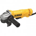 DEWALT 4 1/2in. Compact Small Angle Grinder — 11 Amp, 11,000 RPM, Paddle Switch, Model# DWE402