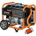 Generac GP3300 Portable Generator — 3750 Surge Watts, 3300 Rated Watts, EPA and CARB Compliant, Model# 6432