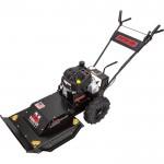 Swisher Predator Self-Propelled Push Rough Cut Lawn Mower — 344cc Briggs & Stratton Powerbuilt Engine, 24in. Deck, Model# WBRC11524
