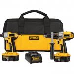 DEWALT 18V Cordless Combo Kit — 2-Tool Set With 2 Batteries, Model# DCK255X