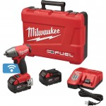 Milwaukee M18 FUEL 3/8in. Impact Wrench Kit with ONE-KEY — With 5.0Ah Extended Capacity Batteries, Model# 2758-22