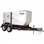 Generac Towable Mobile Diesel Generator — Single/3-Phase, Model# 6790