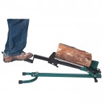 Quality Craft Foot-Operated Log Splitter — 1.5-Ton, Model# LSF-001