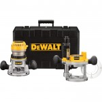 DEWALT Heavy-Duty Fixed Base Router Kit — 2 1/4 HP, 12 Amp, Model# DW618PK