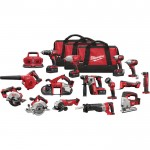 Milwaukee M18 Cordless Combo Kit — 15-Tool Set With 4 Batteries, Model#  2695-15