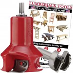 Lumberjack Tools Home Series Tenon Cutter Beginners Kit — 1 1/2in., Model# HSBK1