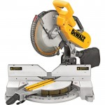 DEWALT Double-Bevel Compound Miter Saw — 12in., 15 Amps, Model# DW716